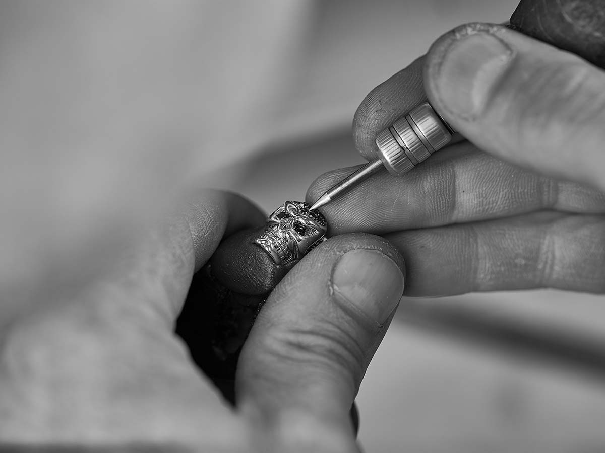 Череп Hotchkis Jewelry